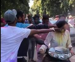 Women harassed in Chandigarh on streets during Holi celebrations, viral video outrages netizens