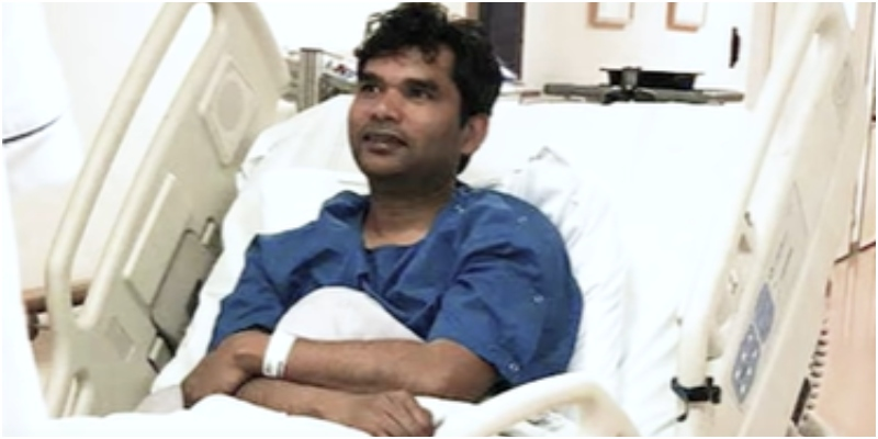 Arun Kumar, man who willingly got coronavirus injected in himself