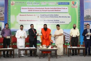 Patanjali claim to make first Ayurvedic COVID-19 medicine