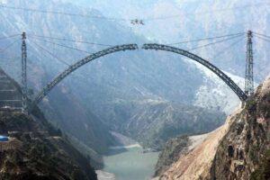 World's Highest Railway Bridge