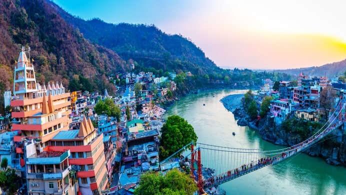 Rishikesh City view